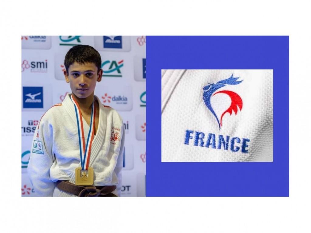 Image de l'actu 'Dayyan Boulemtafes sélectionné en équipe de France Cadets'